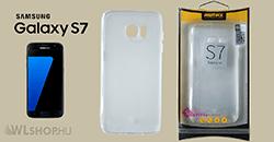 Samsung Galaxy S7 - Remax Crystal Slim TPU prémium tok