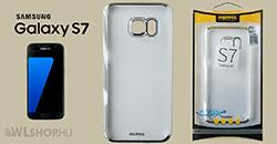 Samsung Galaxy S7 - Remax Clear Slim TPU prémium tok