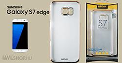 Samsung Galaxy S7 Edge - Remax Clear Slim TPU prémium tok