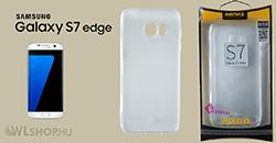 Samsung Galaxy S7 Edge - Remax Crystal Slim TPU prémium tok