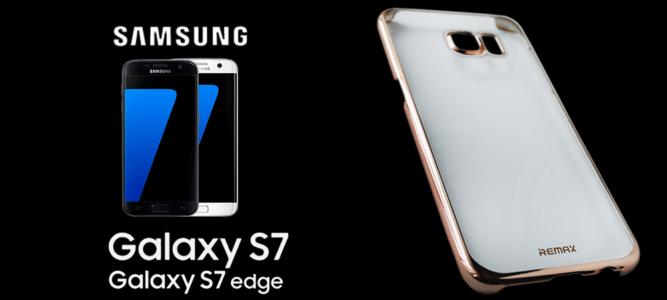 Samsung Galaxy S7 és S7 Edge prémium Remax tokok azonnal készletről