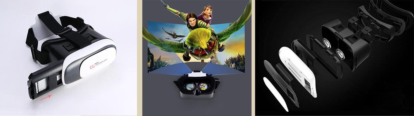 Segítségével nézhetünk 3D filmeket, panoráma filmeket, illetve játszhatunk a lehető legvalósághűbb 3D játékokkal. Minden szempontból rugalmas, állítható eszköz a maximális élmény érdekében! - REMAX 3D VR