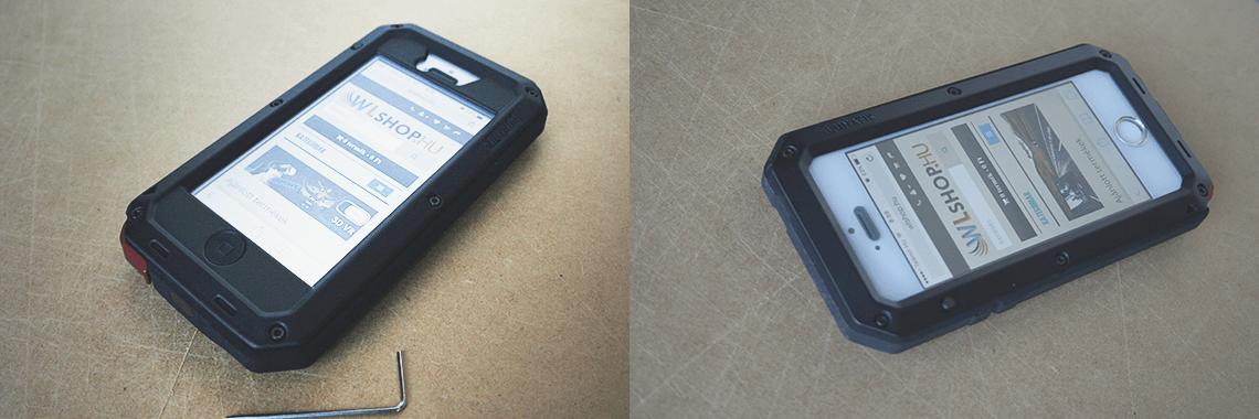LUNATIK TAKTIK EXTREME és STRIKE tokok iphone 5/5S/SE készülékekre