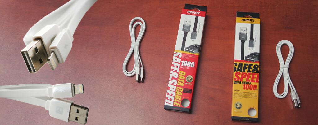 REMAX King-Kong DUAL USB - Lightning / MicroUSB adat & töltő kábel