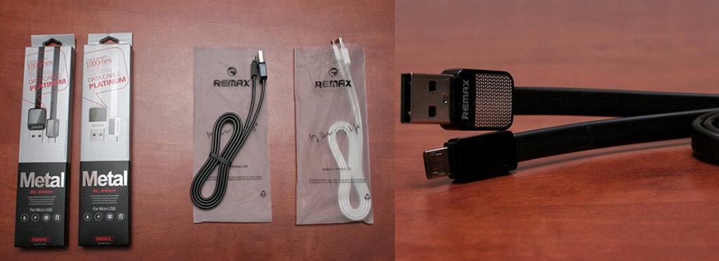 Remax Platinum Metal MicroUSB adat - töltő kábel
