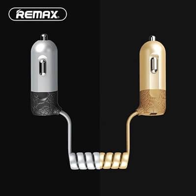 Remax Finchy autós töltőszett, a megoldás az apple és samsung tulajoknak