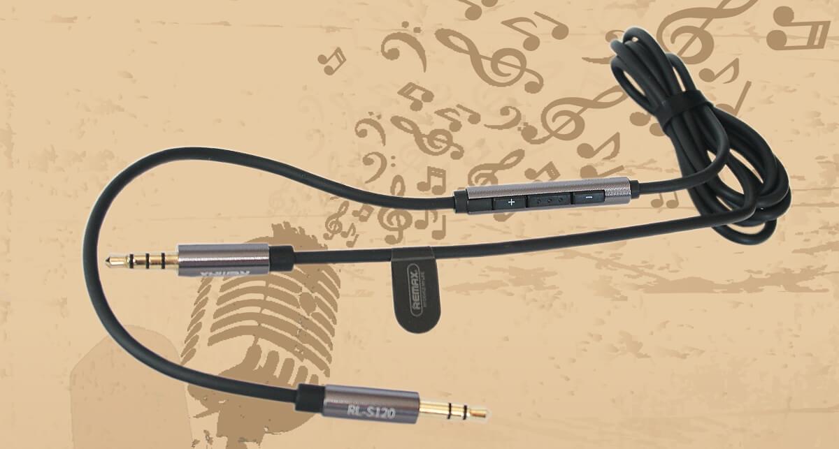 Audio kábel – kristálytiszta hangzással – REMAX minőségben