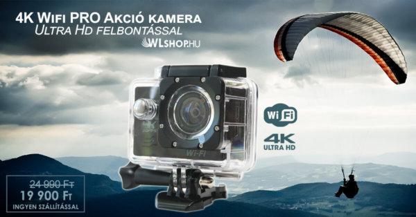 Akcióskamera, sportkamera akció - WLshop.hu