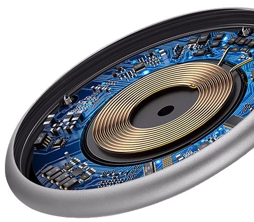 Prémium vezeték nélküli töltő - gyorstöltő - HOCO Qi Standard