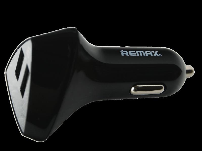 Remax ALIENS 2 USB autós töltő 3.4A - kijelzővel