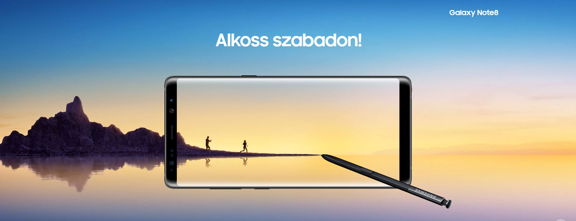 új okostelefon: Samsung Galaxy Note 8