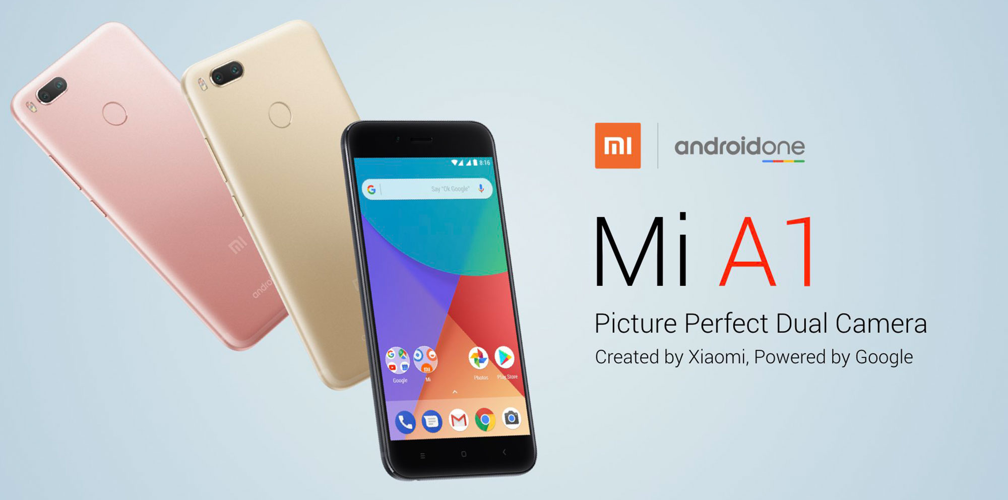 új okostelefon: Xiaomi Mi A1