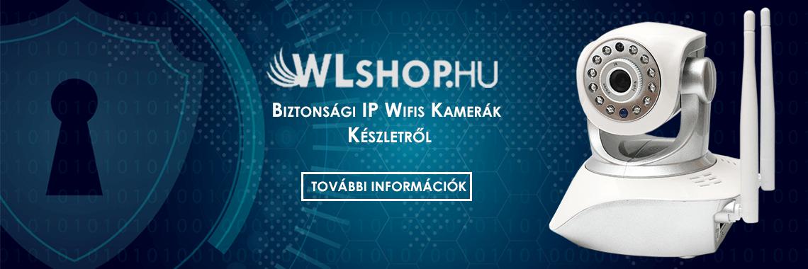 Biztonsági IP Kamera Wifi