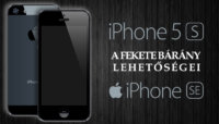 iPhone 5 - 5S - SE tok – a fekete bárány lehetőségei