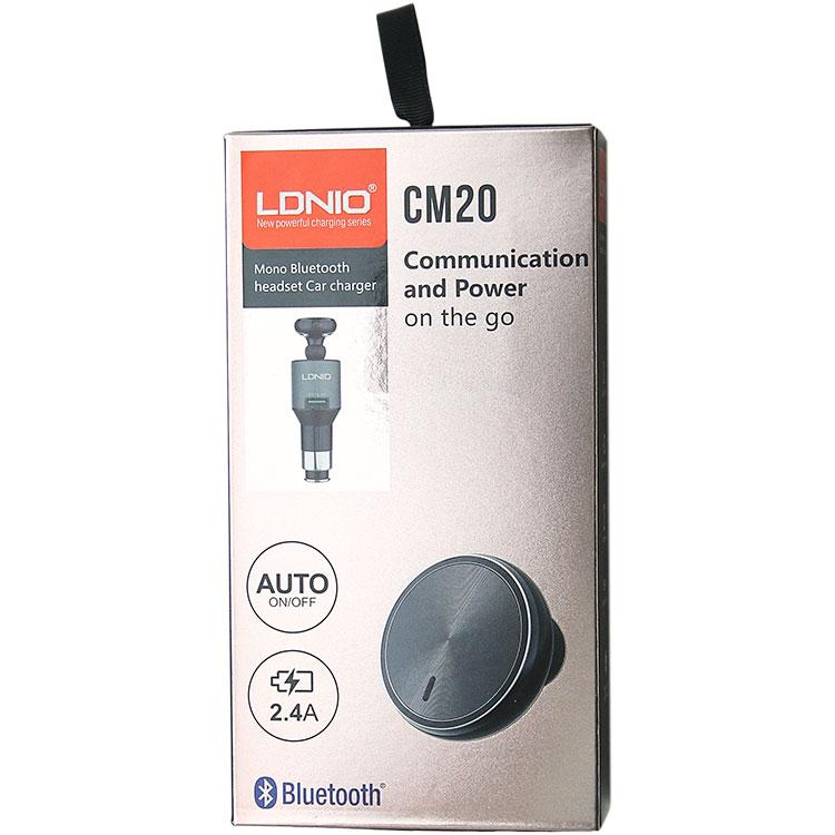 LDNIO CM20 Autós töltő 2.4A és Bluetooth headset