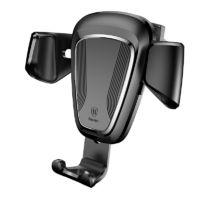 Baseus Gravity autós telefontartó szellőzőrácsra - Fekete