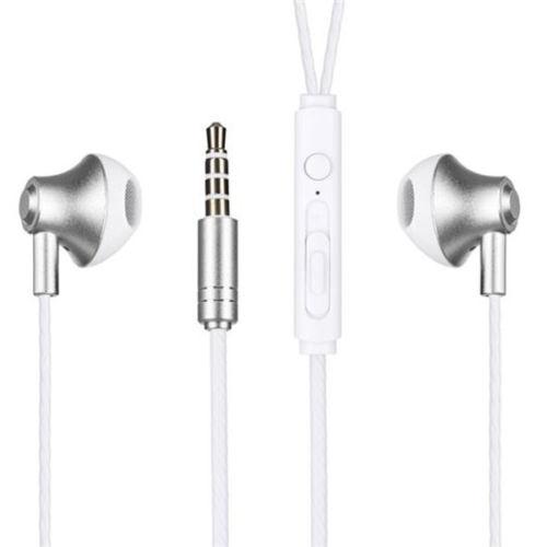 Vezetékes fülhallgató/headset Remax RM-711 - Fekete