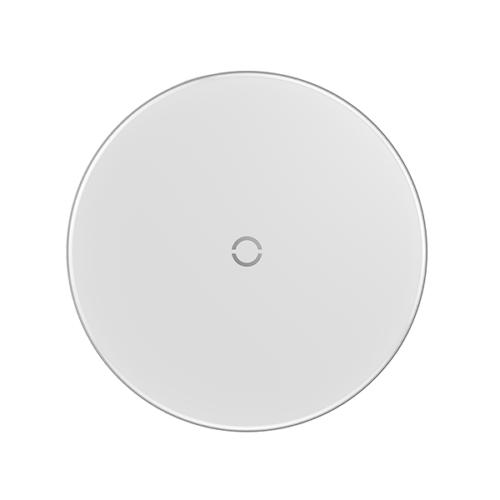 Baseus vezeték nélküli Wireless gyorstöltő Simple – Fehér
